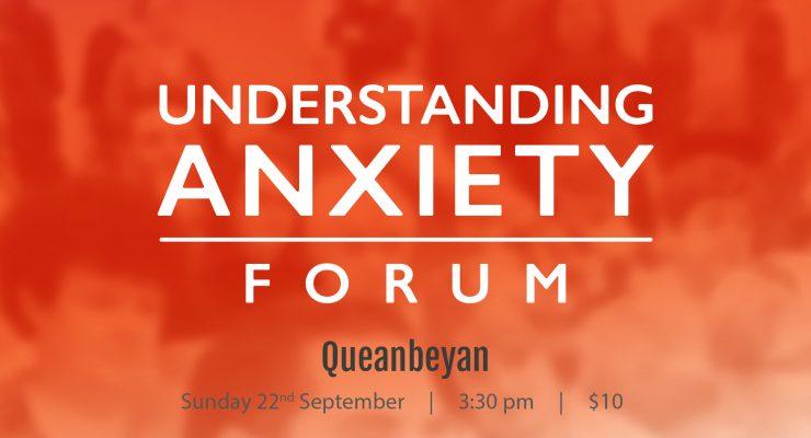 PublicAnxiety Forum Queanbeyan